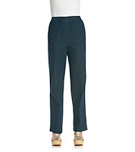 Breckenridge® Denim Pull-On Pant