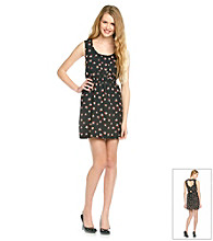 Sequin Hearts® Juniors' Bird Print Dress