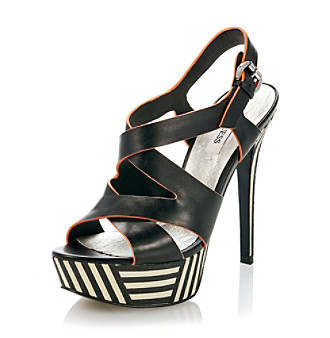 "Guess ""Danten"" Platform Dress Heel - Black"