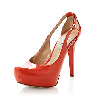 "Guess ""Jacoba"" Platform Pump - Coral"