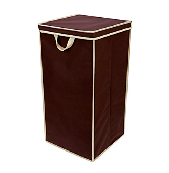 Delta Tall Nursery Hamper - Chocolate