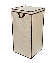 Delta Tall Nursery Hamper - Beige