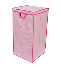 Delta Tall Nursery Hamper - Barely Pink