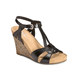 "A2 by Aerosoles ""Plushfever"" Wedge Sandal"