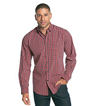 John Bartlett Consensus Men's Gingham Washed Woven Shirt