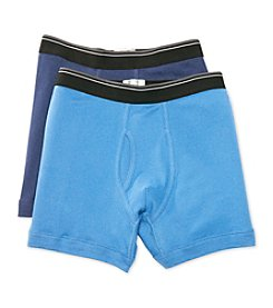 John Bartlett Statements Men's Navy 2-Pack Boxer Briefs