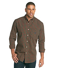 Chaps® Men's Big & Tall Sport Red Tamarack Plaid Woven Shirt