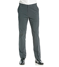 Calvin Klein Men's Steel Grey Dylan Stripe Pants
