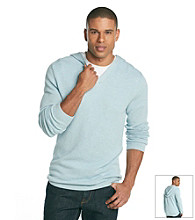Calvin Klein Men's Textured Hooded Sweater