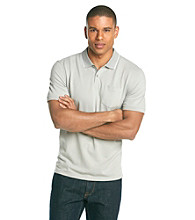 Calvin Klein Men's Outerspace Short Sleeve Pique Polo