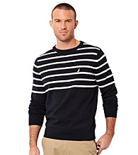 Nautica® Men's Classic Navy Crew Neck Sweater