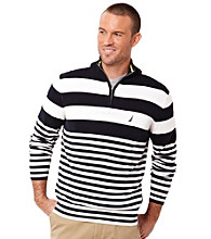 Nautica® Men's Classic Navy Stripe Sweater