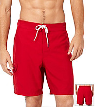 Nautica® Men's Cargo Swim Shorts