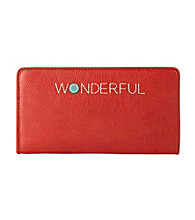 Fossil® Tomato Hunter Zip Clutch