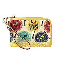 Fossil® Bright Multi Key-Per Wristlet