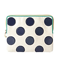 Fossil® Navy Dot Key-Per Tablet Sleeve