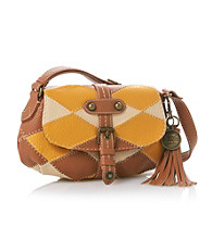 Nine West Vintage America Collection® Cognac/Sand Design Studio Small Crossbody
