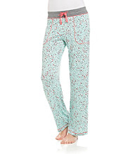 DKNY® Knit Pant - Mint Hearts