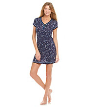 DKNY® Knit Sleepshirt - Navy Hearts