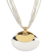 Napier® Two Tone Pendant Necklace