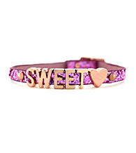 BCBGeneration™ Rose Gold Sweetheart Mini Affirmation Bracelet