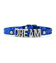 BCBGeneration™ Silvertone Dream Mini Affirmation Bracelet