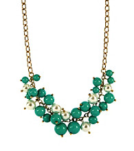 Anne Klein® Goldtone Turquoise Necklace