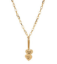 Betsey Johnson® Goldtone
