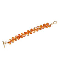 Kenneth Cole® Faceted Bead Toggle Bracelet