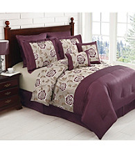 Emily Plum 6-pc. Comforter Set by LivingQuarters