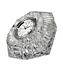 Waterford® Lismore Diamond Clock