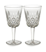 Waterford® Classic Lismore Set of 2 Goblets