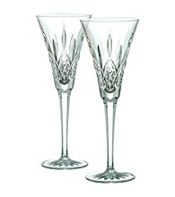Waterford® Classic Lismore Set of 2 Toasting Flutes