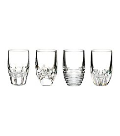 Waterford® Set of 4 Mixed Clear Shot Glasses