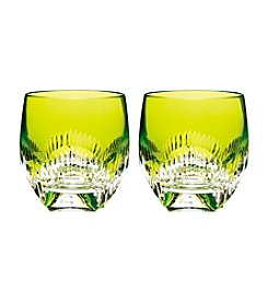 Waterford® Neon Lime Set of 2 Tumblers
