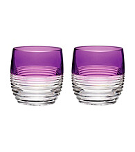 Waterford® Circon Purple Set of 2 Tumblers