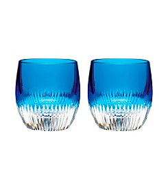 Waterford® Argon Blue Set of 2 Tumblers