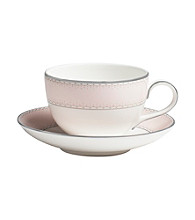 Waterford® Monique Lhullier® Dentelle Blush Tea Saucer