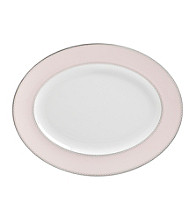 Waterford® Monique Lhullier® Dentelle Blush Medium Oval Platter