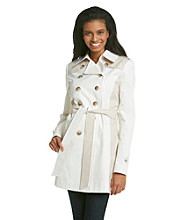 DKNY® Colorblock Trench Coat