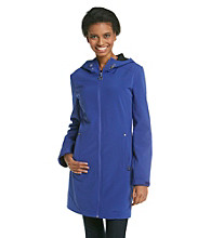 Calvin Klein Hooded Bonded to Mesh Softshell Coat