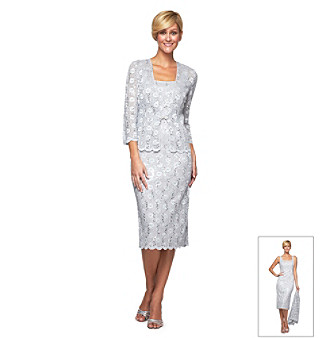 Alex Evenings® Lace Jacket and Dress
