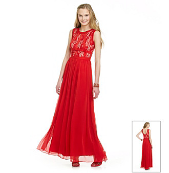Rampage® Juniors' Long Lace Gown