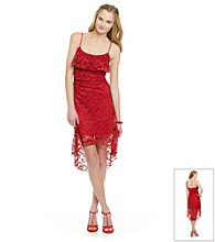 Ruby Rox® Juniors' Red Lace Dress
