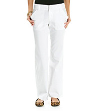 Relativity® White Twill Pant