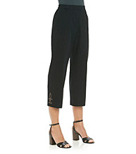 Cathy Daniels® Stretch Waistband Ankle Pant