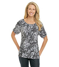 Cathy Daniels® Scoopneck Knit Top