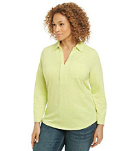 Studio Works® Plus Size Adjustable Knit Top