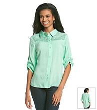 Oneworld® Button Down Blouse