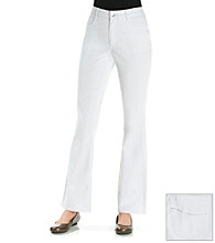 Laura Ashley® White Bootcut Jean
